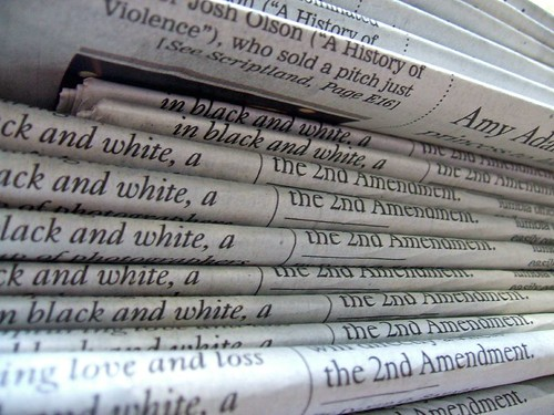 A stack of newspapers | by DBduo Photography