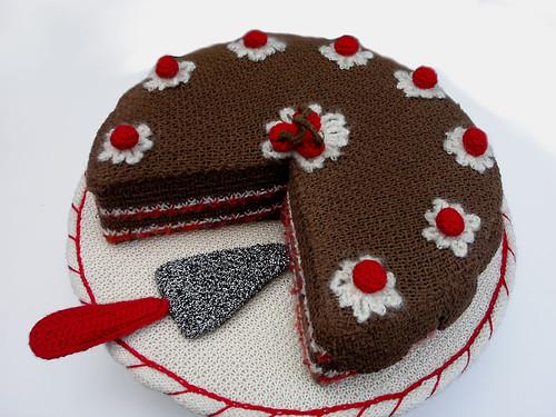 Knitting Themed Birthday Cakes