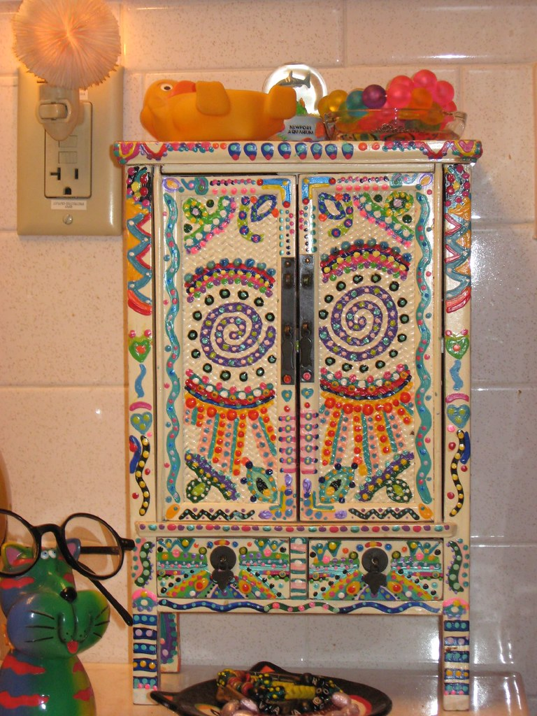 Painted Cabinet painted cabinet | the best way to know god is to love many t… | flickr