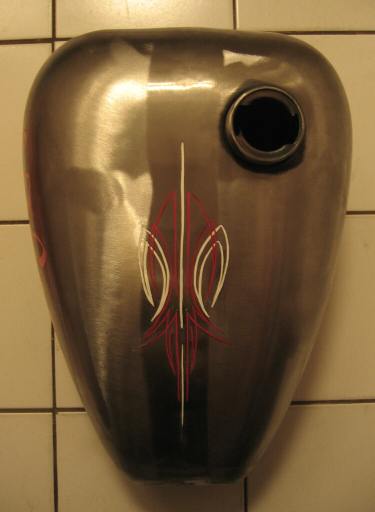 Pinstriping Gas Tank Some Guy Wants To Have His