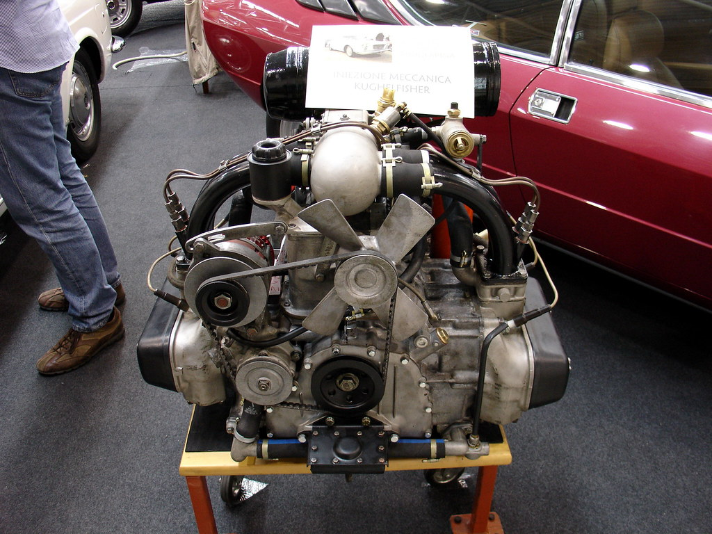 Lancia Flavia Iniezione Engine Roberto Flickr