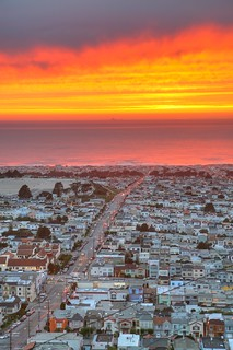 Why it is called the Sunset District! | by SF Brit