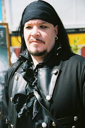 goth pirate goth male taken at wave gotik treffen - ktreffen