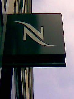 nespresso store left bank paris nespresso rue du bac pa flickr. Black Bedroom Furniture Sets. Home Design Ideas