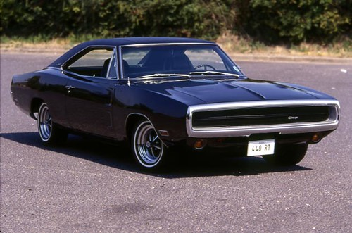 70s Tripple Black Charger Rt Teve S Cars Flickr