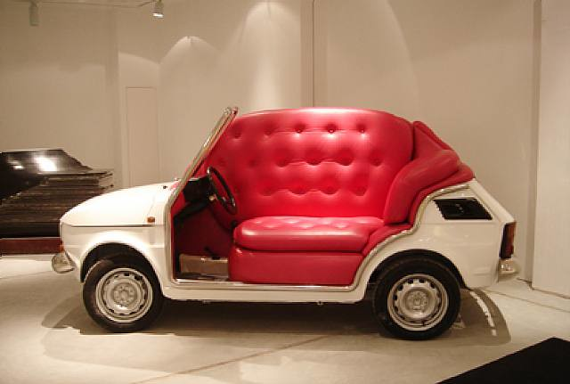 Sofa Car Imanol Lobato Flickr