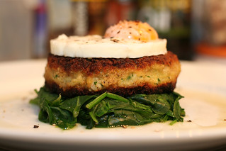 Frog, Flounder and Fontina Fishcake | by Fraser Lewry