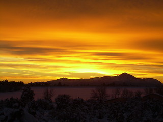 Sleeping Ute Mountain sunset | by Julia H