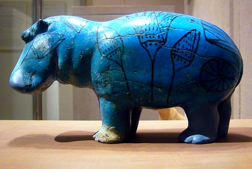 William The Hippopotamus Faience Dynasty 12 Ca 1981