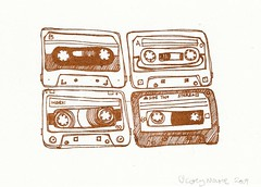 Gocco Mix Tapes | by coreymarie♥com