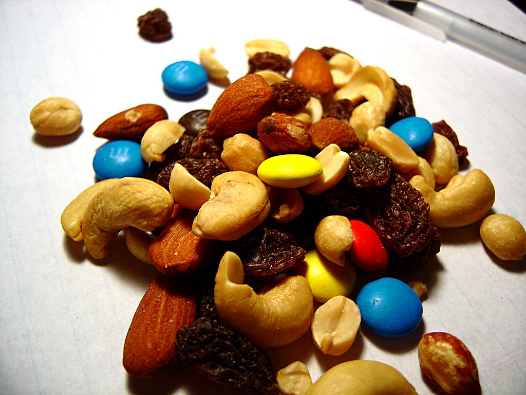 Food for the trail | Some trail mix from Wal-Mart. | Andy ...