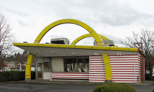 Original Mcdonalds Building Preserved In The Large