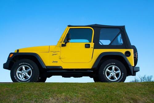 White Jeep Wrangler >> Jeep Wrangler TJ Sport 4.0L side   Lloyd Hobden   Flickr