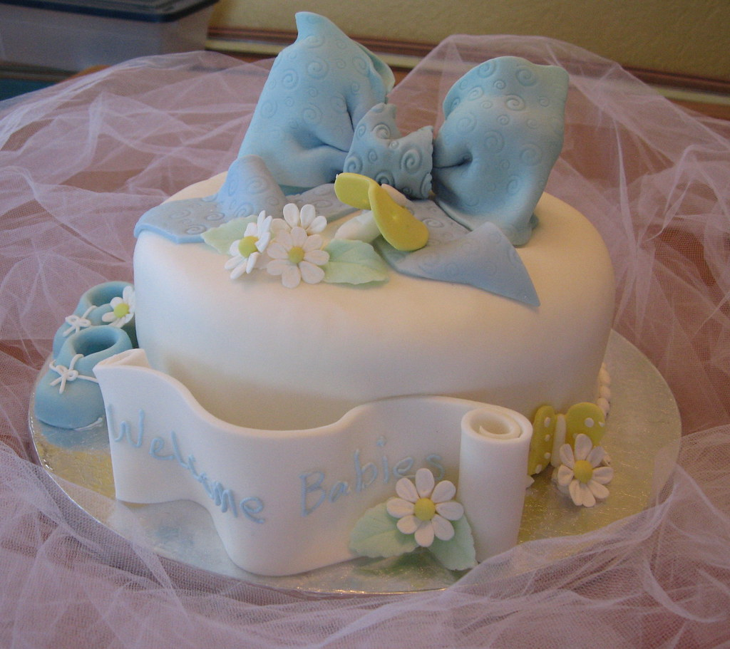 Traditional Baby Shower Cakes