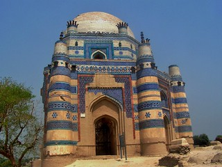 Shrine of Bibi Jawindi at Uch Sharif, Pakistan - March 2008 | by SaffyH