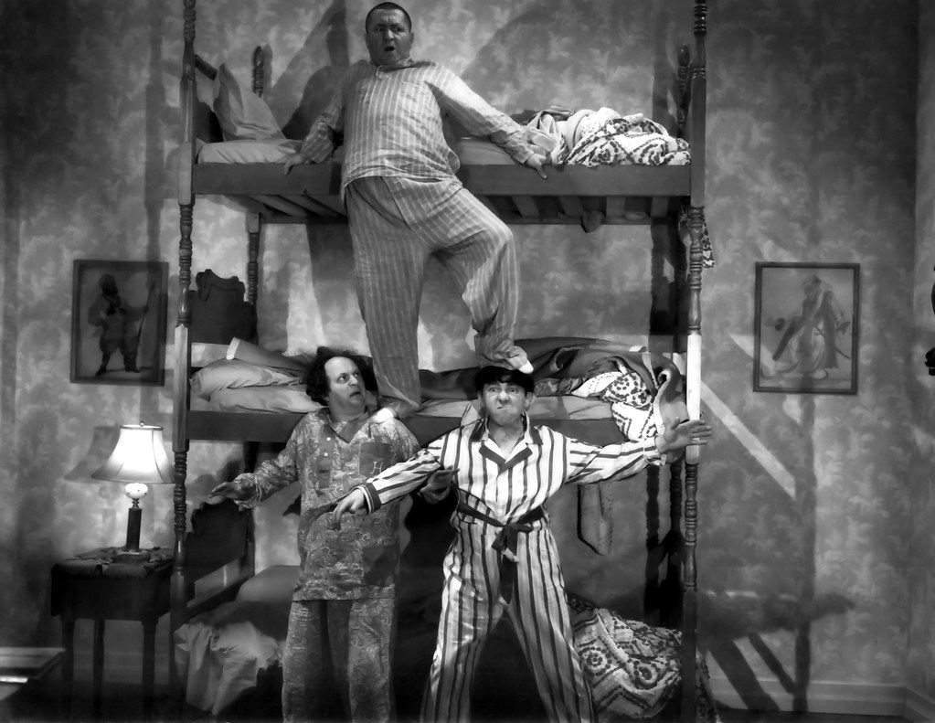 Three Stooges Bunk Bed