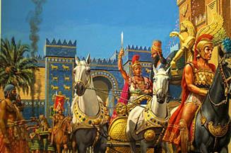 Alexander Enters Babylon In Early 331 Alexander