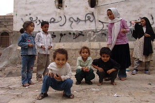 Sana'a, the ancient capital of Yemen - children on street | by CharlesFred