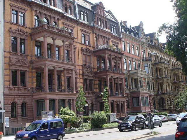 German apartments in Wiesbaden, Germany | Flickr - Photo ...