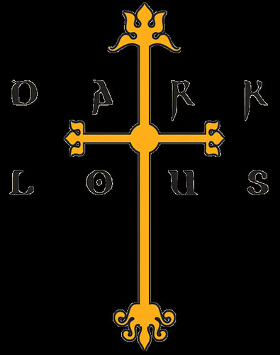 Dark Lotus Cross Dark lotus cross logo