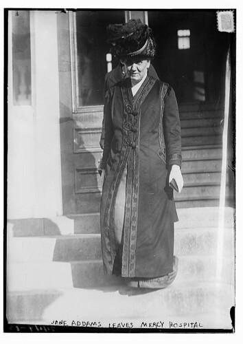 Jane Addams leaves Mercy Hospital  (LOC) | by The Library of Congress