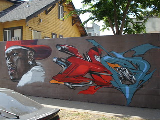 Evol FlyID 50Cent LosAngeles Graffiti Art | by anarchosyn