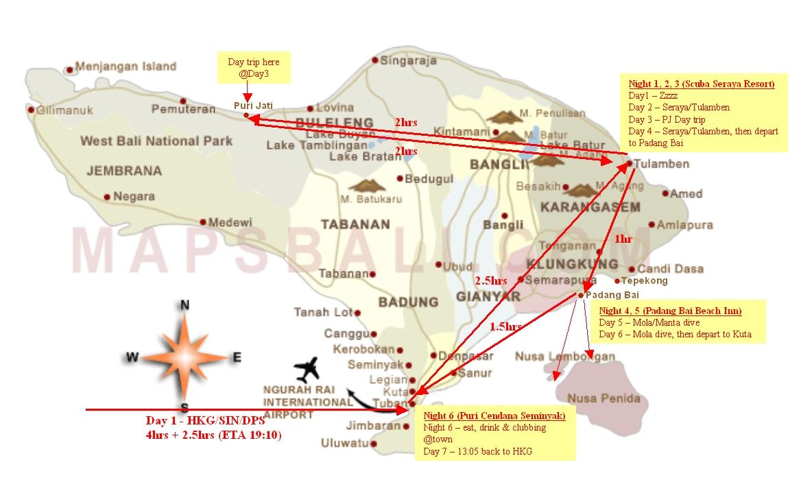 Bali Itinerary v2.0