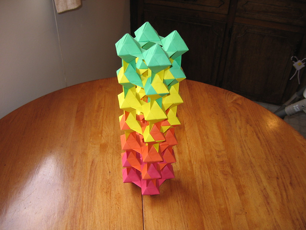 Tomoko Fuse Unit Origami Dual Triangles 4