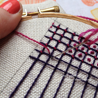 Crewel Filling Stitches - Sampler #6 | by juliezryan