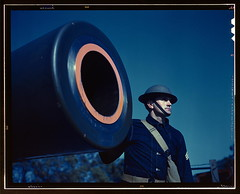 16-inch coast artillery gun, Ft. Story, Va.  (LOC) | by The Library of Congress