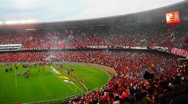 7a301ad2cf ... Homenagem a Nação Rubro Negra que lotou o Maracanã