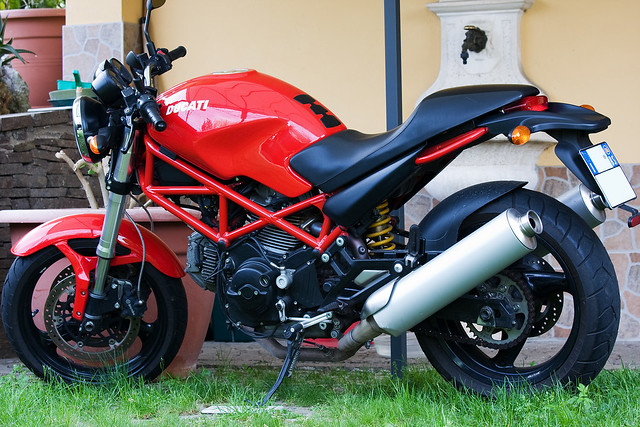 Ducati Monster Sound Clips