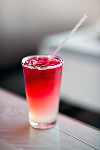 Narai Thai Cuisine Raspberry Iced Tea | by disneymike