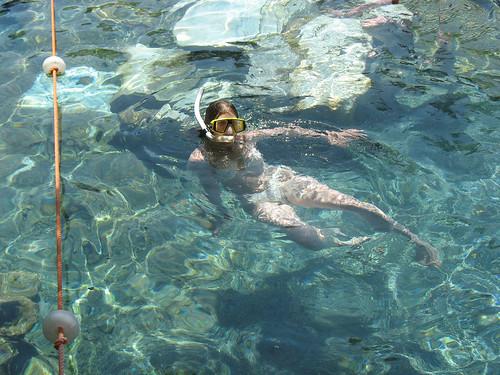 Pamukkale 2007 - Antique pool - Noëlle snorkeling  Snorkell…  Flickr