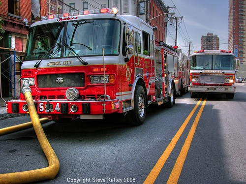 Emergency response to Jersey City fire | by mudpig