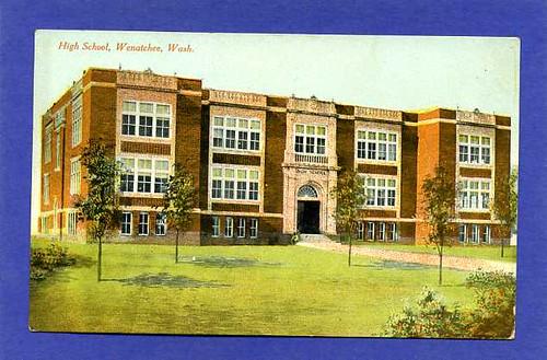 Wenatchee High School On King Street Now Apartment