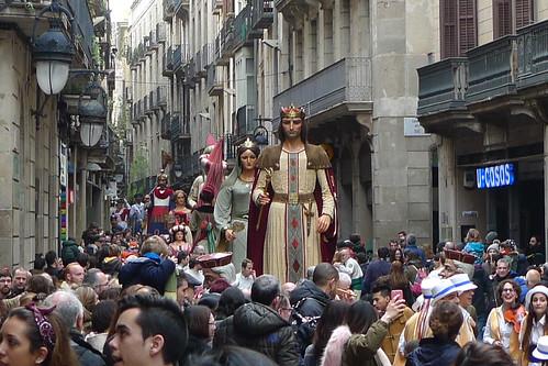 St Eulalia Festival - Barcelona, Catalunya, Spain