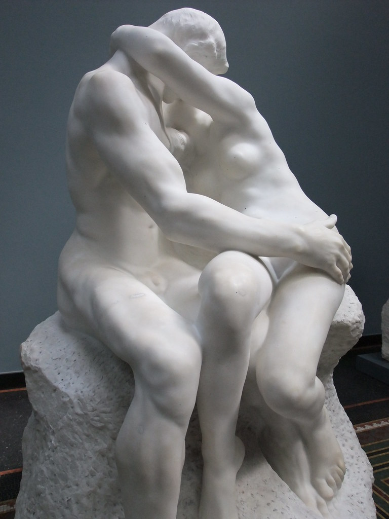 Image result for rodin the kiss tate