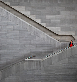 Stairs #4 (Red Lady) | by andertho