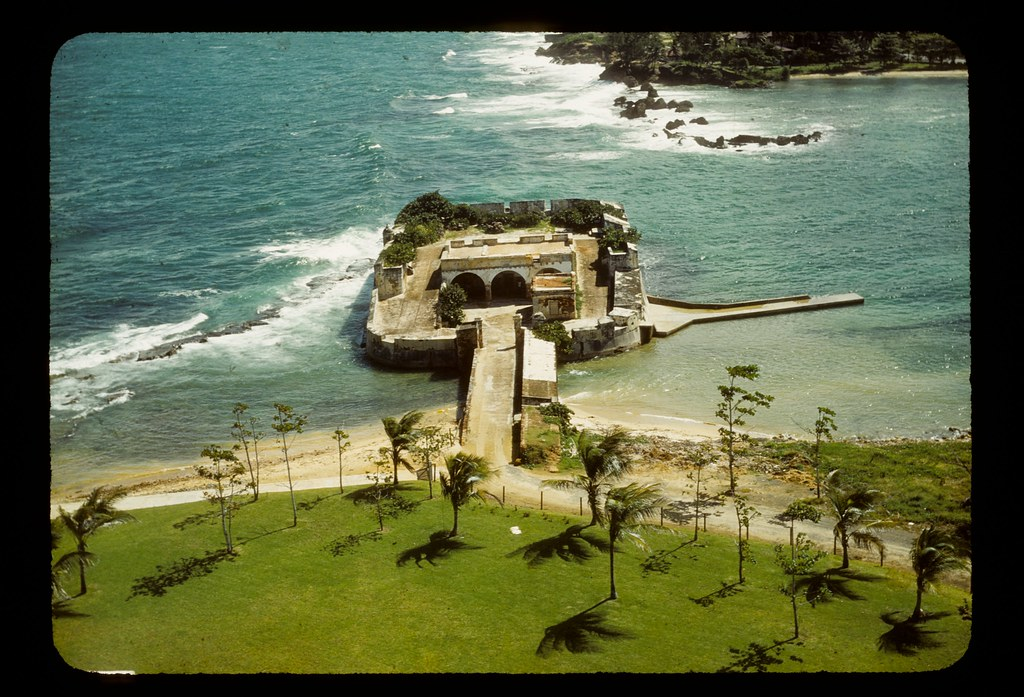 Fortified building in water   Possibly part of San Juan fort…   Flickr