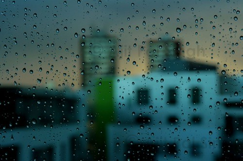 Rain drops on my window | by Ajit Pal Singh