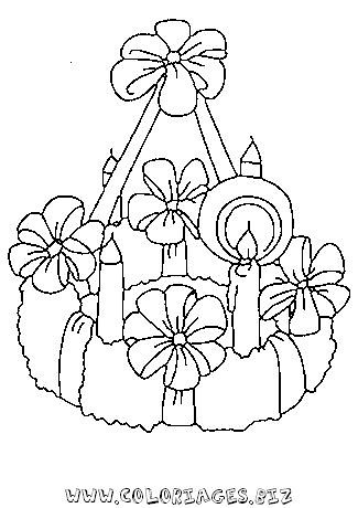 Coloriage bougie noel 10 shiselmanualidades flickr - Bougie coloriage ...