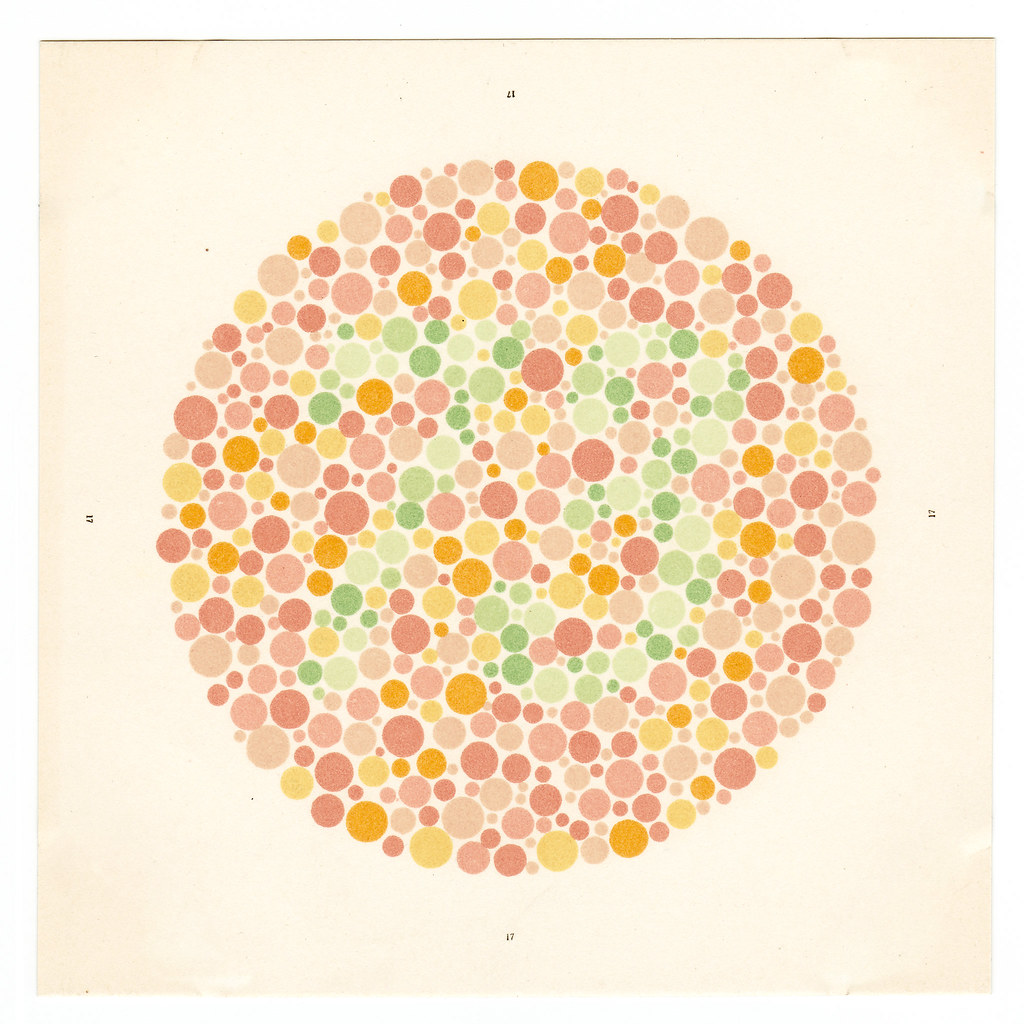 Ishihara Test For Colour-blindness