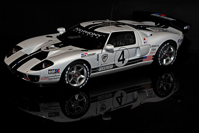 Ford Gt Lm Race Car Spec Ii By Captchaos