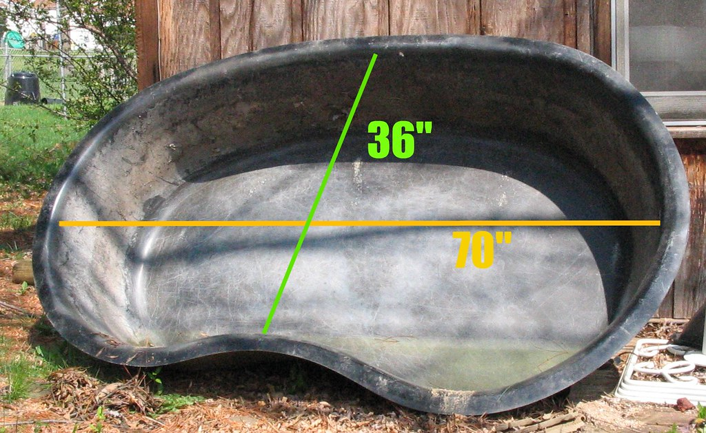 Fiberglass Pond Form For Sale Approximately 70 Long And 3 Flickr
