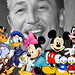 Walter Elias Disney and his friends
