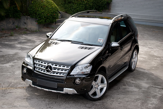 Mb Ml350 Amg 2 Mercedes Benz Ml350 Amg Edition Showcar Det Flickr