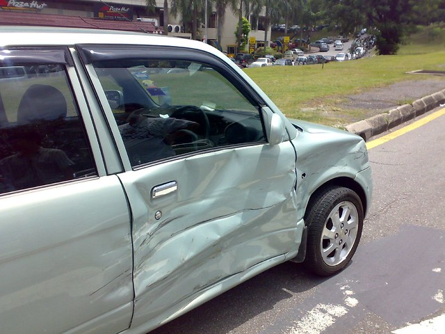 first car crash ever