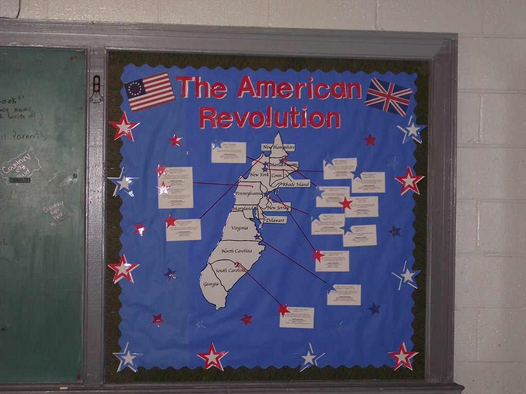 Cool History Classroom Decorations ~ Battles of the american revolution gold press flickr