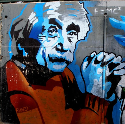Albert Einstein | by Landahlauts